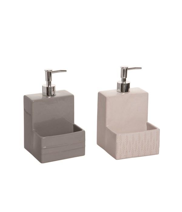 Stoneware Sponge/Soap Holder