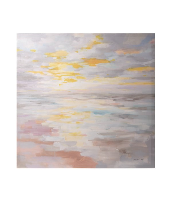 Canvas Giclee Sunup on the Sea Wall Art