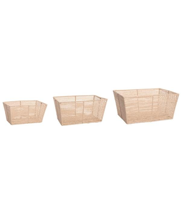 Paper Baskets S/3