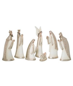 Res Lace Accent Nativity S/7