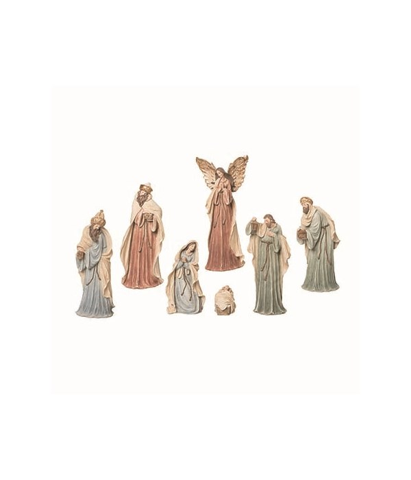 Res New Age Nativity S/7