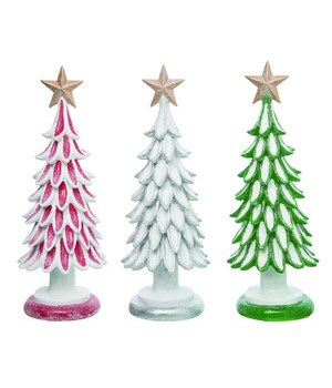 Res Holly Jolly Tree 3 Asst