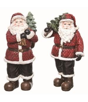 Res Classic Santa Fig 2 Asst