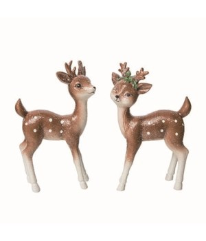 Res Christmas Fawn Fig 2 Asst