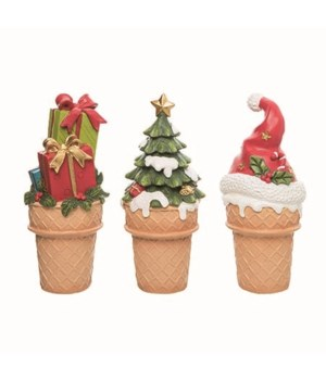 Res Ice Cream Christmas Fig 3 Asst
