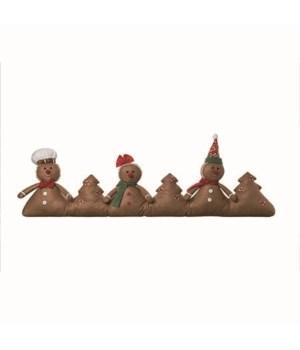 Plush Gingerbread Draft Dodger