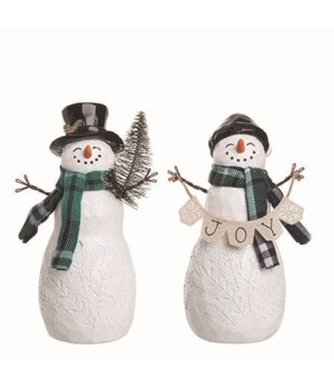 Res Cheery Snowman Fig 2 Asst