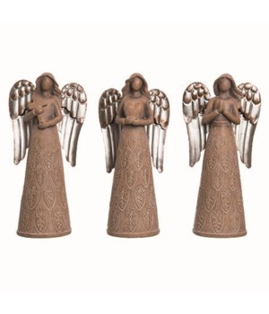 Res Christmas Angel Fig 3 Asst
