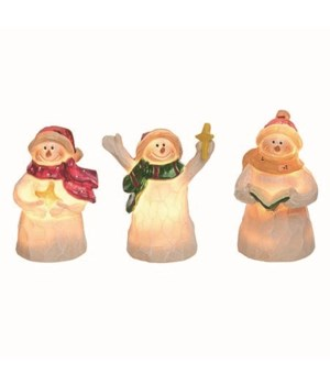 Res Light Up Snowman Fig 3 Asst