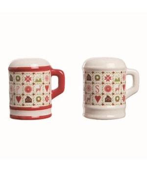 Dol Quilted Canisters S/P S/2