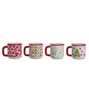 Dol Quilted Mug 4 Asst