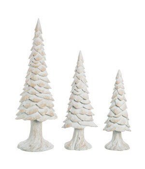 Res Woodchip Trees S/3