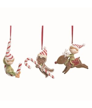 Res Christmas Candy Orn 3 Asst
