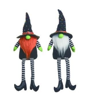 Plush Halloween Gnome Sitter 2 Asst