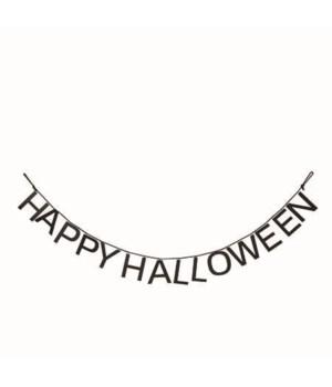 Metal Halloween Banner