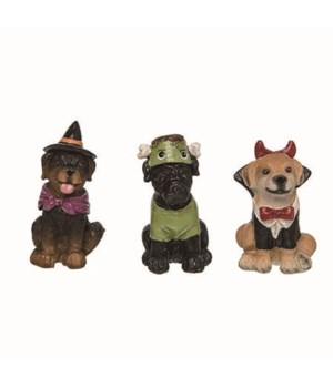 Res Costumed Dog Fig 3 Asst
