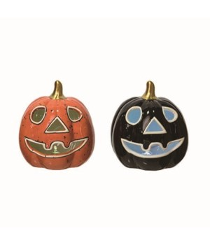 Dol Light Up Jack-O-Lantern 2 Asst