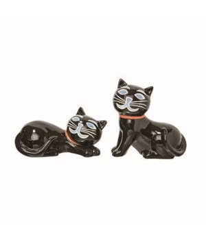 Dol Light Up Black Cat 2 Asst