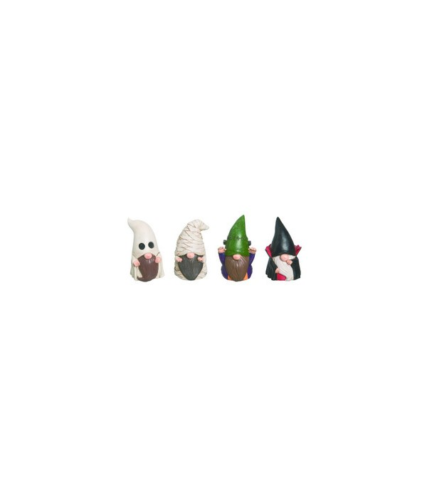 Res Gnome Trick or Treat Fig 4 Asst