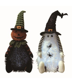 Plush L/U Halloween Sitter 2 Asst