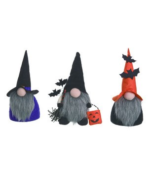 Sm Fabric Witch Gnome 3 Asst