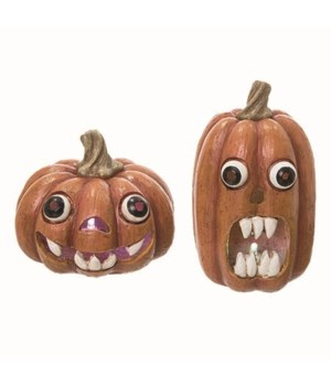 Res Light Up Pumpkin Face Fig 2 Asst