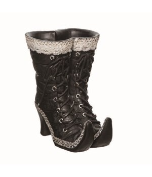 Res Lace Witch Boot Container