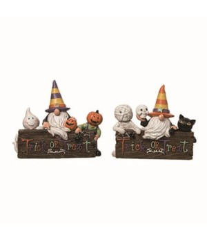 Res Candy Color Gnome Decor 2 Asst
