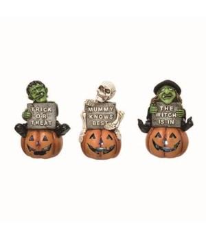 Res Light Up Halloween Fig 3 Asst