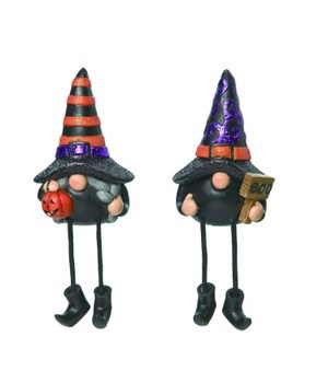 Res Witch Gnome Sitter 2 Asst