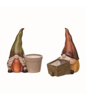 T/C Gnome Planter 2 Asst