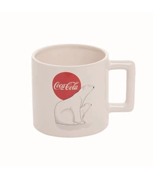 Dol 20oz Coke Polar Bear & Cub Mug
