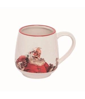 Dol Santa With Bottles Mug