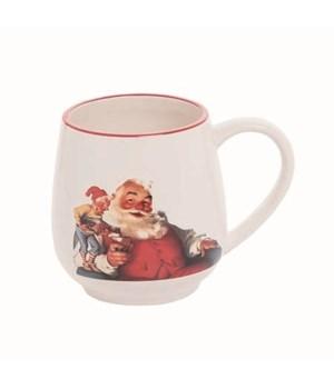 Dol Santa w/Elf Mug
