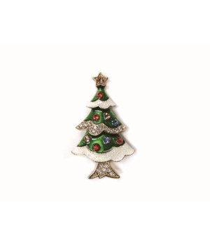 Classic Christmas Pins S/36 With Display