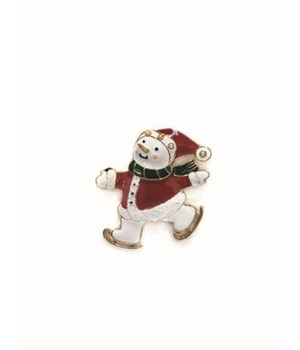 Festive Christmas Pins S/36 With Display