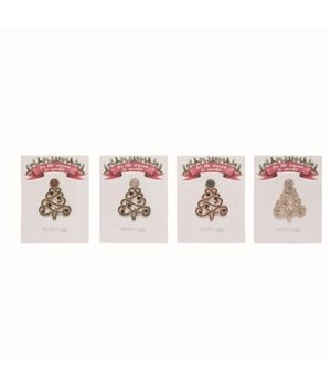 Sparkle Tree Pins S/24 With Display