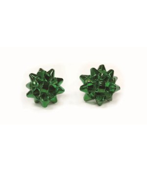 Christmas Bow Earrings S/24 With Display