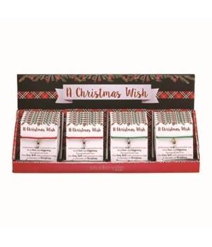 Christmas Wish Bracelet S/24 w/Display