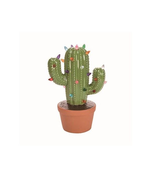Cer Light Up Christmas Cactus