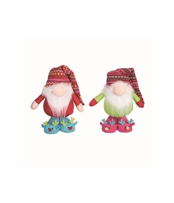 Plush Bright Standing Gnome 2 Asst