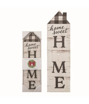 MDF Interchangeable Home Sign