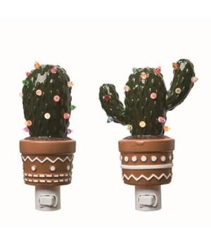Dol Cactus Night Light 2 Asst