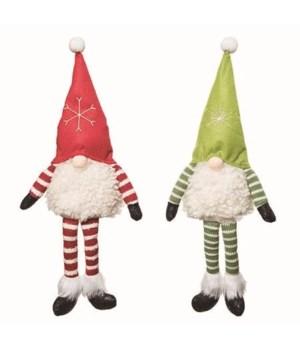 Plush Gnome Sitter 2 Asst
