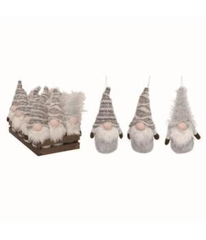 Plush Birch Gnome Orns w/Display S/12