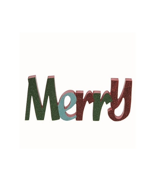 MDF Merry Glitz Decor