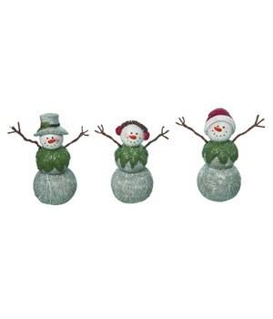 Sm Res Woodsy Snowman Fig 3 Asst