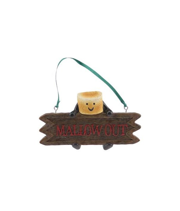SMORE MALLOW OUT ORNAMENT 12/BX