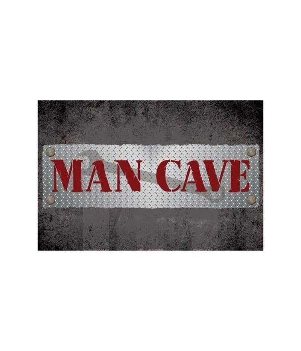 MAN CAVE FLOOR MAT 12/CS 18 in. x 30 in.
