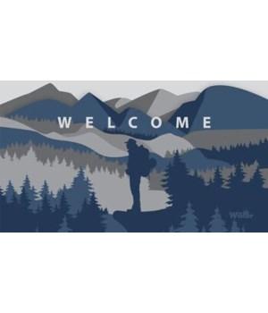 FLOORMAT MTN/TREE/WELCOME